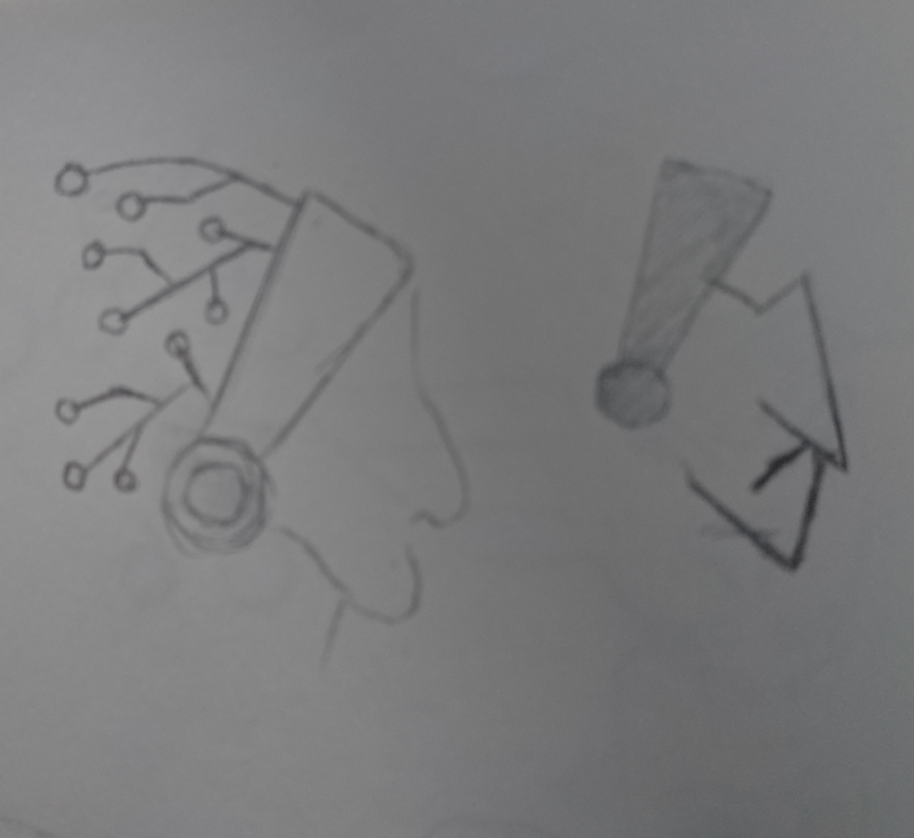 Ruwe logo schetsen