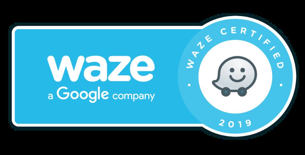 Waze-badge