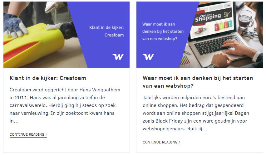 Blog Webship