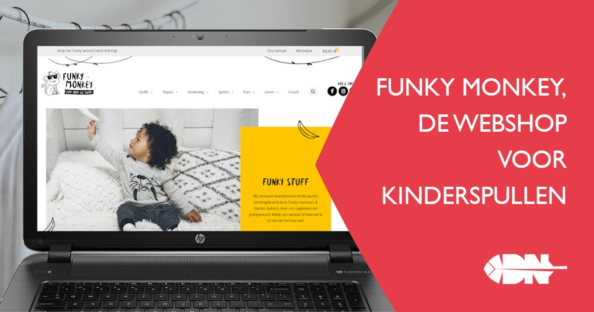 Funky Monkey, de webshop voor kinderspullen