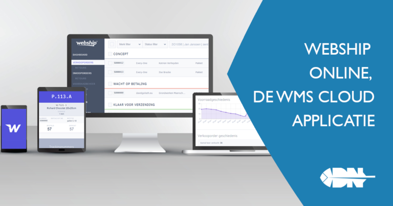 Webship Online, de WMS cloud applicatie
