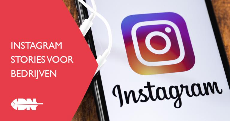 Instagram Stories voor bedrijven