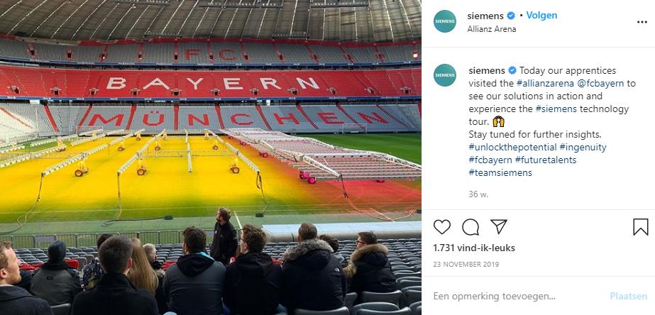 Instagram in een B2B omgeving