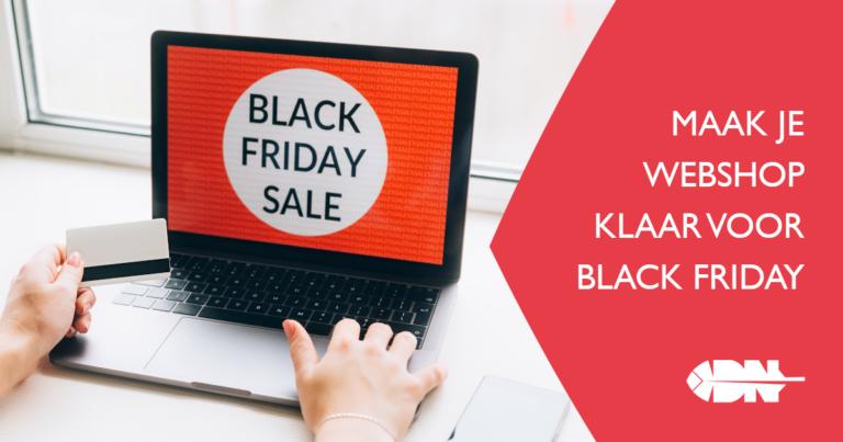Maak je webshop klaar voor Black Friday