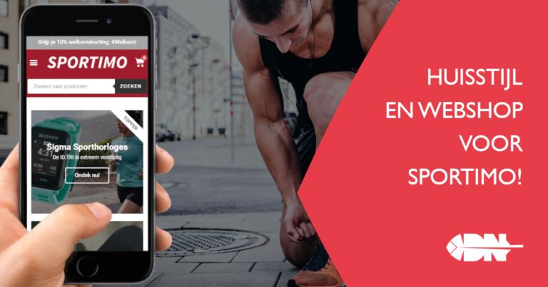 Sportimo: huisstijl & webshop voor slimme sportproducten